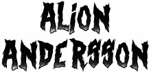 Alion Andersson band logo