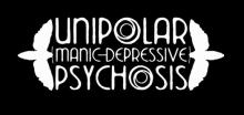 Unipolar Manic Depressive Psychosis band logo