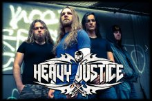 Heavy Justice band photo